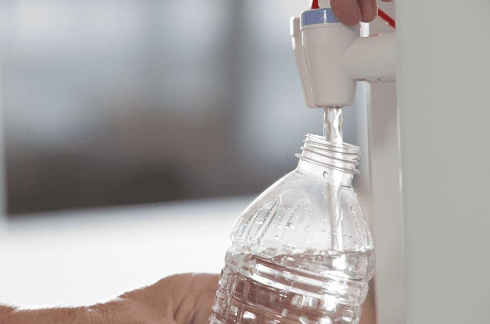 Fuente de Agua Arganda para hidratarse en verano.